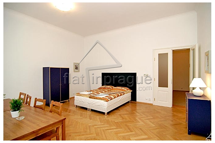 Spacious furnished three bedroom apartment