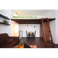 Very cozy, completely furnished studio with new furniture and terrace in center