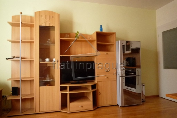 Nice, furnished one bedroom apartment with a balcony near metro station