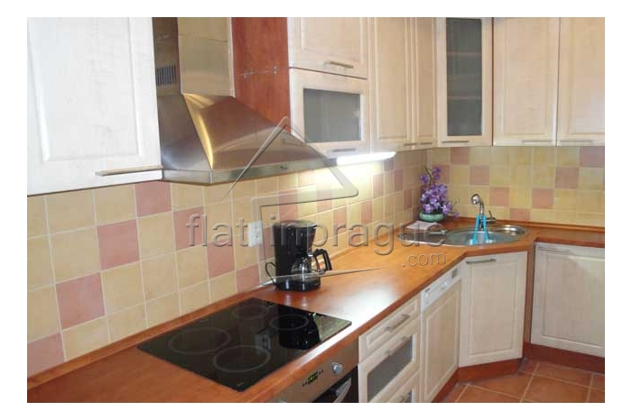Nice, furnished three bedroom apartment in Prague