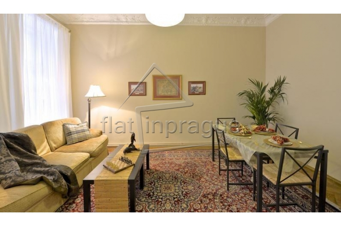 Beautiful romantic apartment close to the river bank in Prague 1