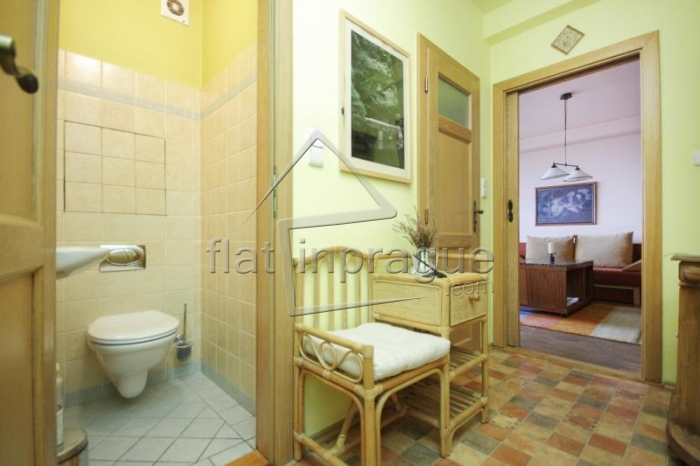 Comfortable apartment with balcony in Prague 5 Barrandov