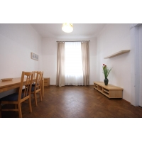 Bright two bedroom apartment for rent in Prague 2 - New Town