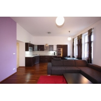 Beautiful and luxurious two bedroom apartment with a balcony