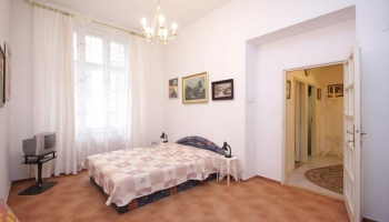 Spacious studio apartment right in the center of Prague