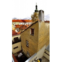 Nice apartment in the heart of Prague´s with windows facing yard