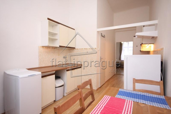 Bright modern one bedroom apartment in an attractive area of Prague 3 - Žižkov