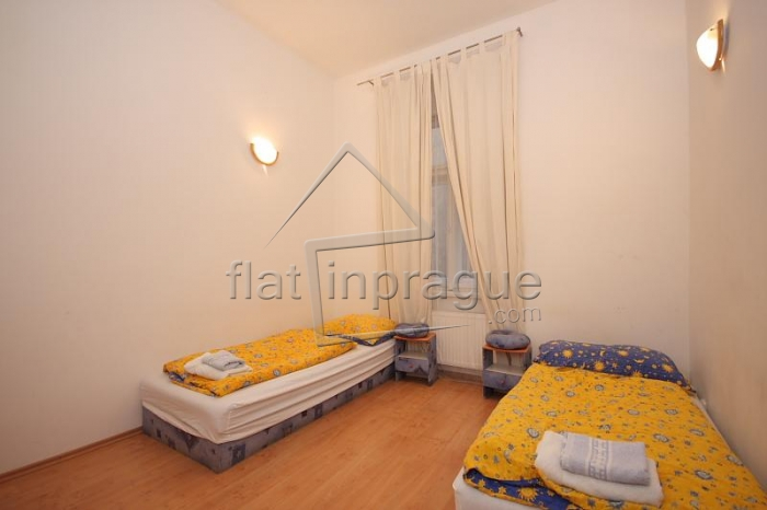 Lovely large family apartment with balcony in center of Prague