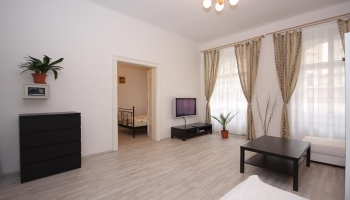 Spacious two bedroom apartment in great larea of Prague