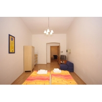 Beautiful and bright one bedroom apartment is situated in Prague city centre