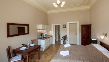 Very nice and modern studio situated right next to the Old Town Square