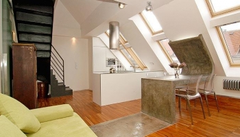 Beautiful loft apartment in Prague 6 - Dejvice