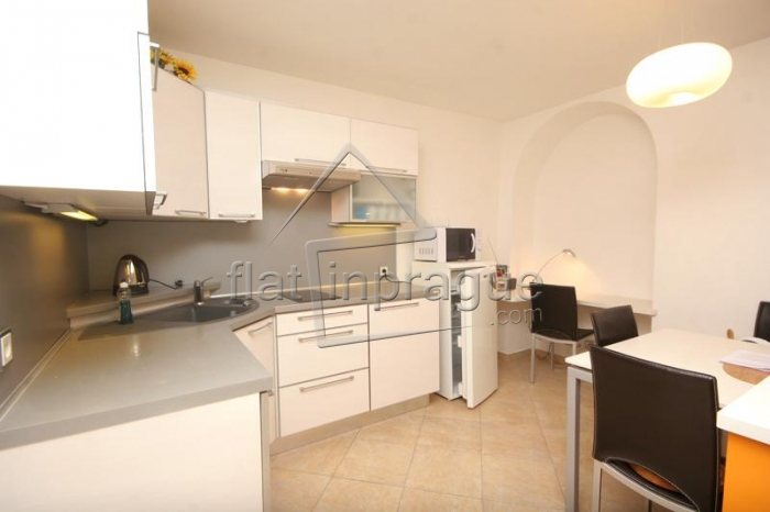 Cozy, fully furnished one bedroom apartment in Pra