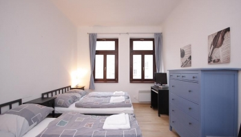 Cozy furnished one bedroom apartment in the street Heleny Malířové, Prague 6