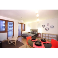 Bright newly reconstructed apartment in