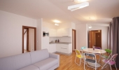 Modern two bedroom attic apartment for short or long term rent (66sm)  Neklanova
