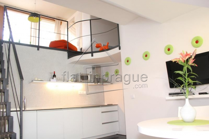 Modern maisonette apartment