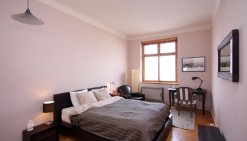 Luxury stylishly furnished two bedroom apartment in a quiet area of Prague 7 Hol