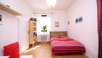 Very cozy furnished one bedroom apartment on the ground floor of a family house