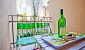 Very nice modernly furnished three bedroom apartment with balcony  in Prague 7  U letenského sadu