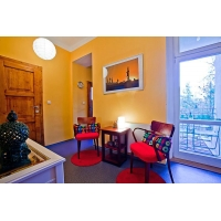Very nice modernly furnished three bedroom apartment with balcony  in Prague 7