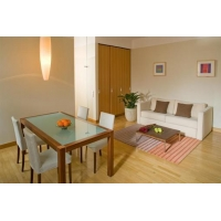 Apartment with sauna and gym access in Belgická street