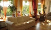 Beautiful and large villa apartment with a stunning view on the city  Na Míčance