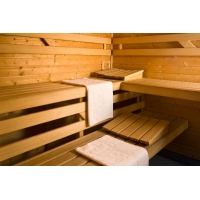 Studio with sauna and gym access