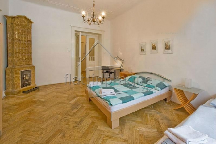 Modern air-conditioned two bedroom apartment in Prague's historical centre