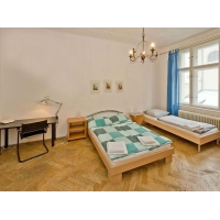 Modern air-conditioned two bedroom apartment in Prague's historical centre  Tepmlova