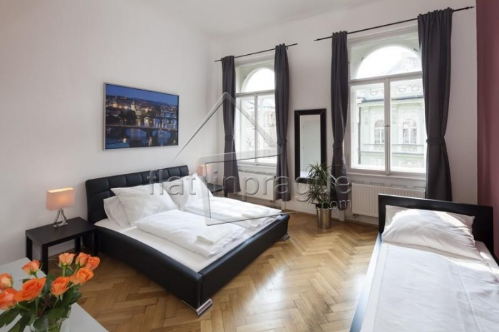 Modern tastefully furnished apartment right next to Wenceslas Square