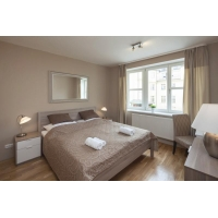 Beautiful modern one bedroom apartment with terrace on Wenceslas Square