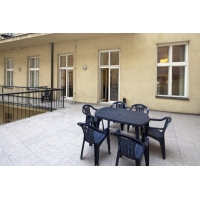 One bedroom duplex apartment with large terrace, Prague 1 - New Town