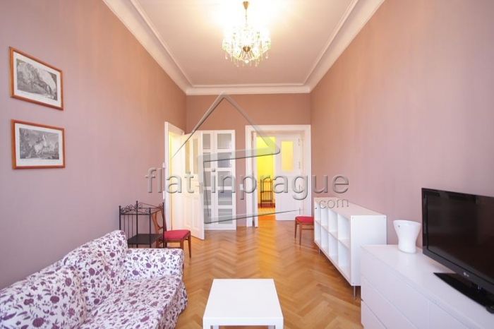 Beautiful, sunny one bedroom apartment in the city center