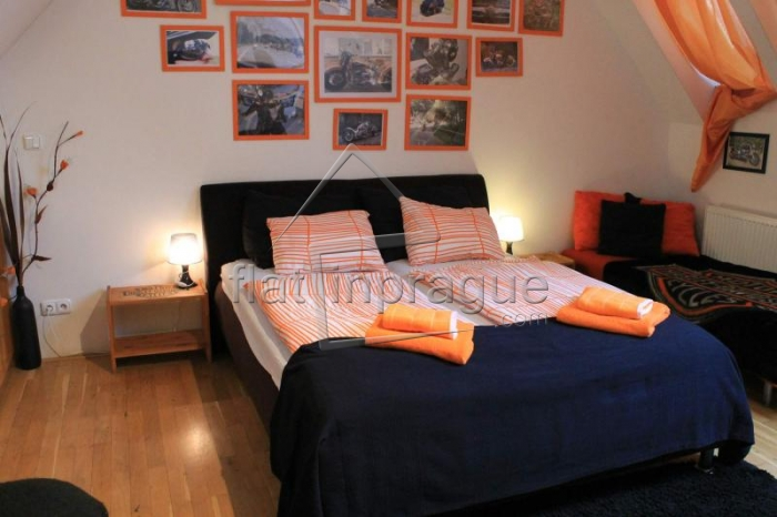 Very nice, atypical apartment with terrace on Wenceslas Square
