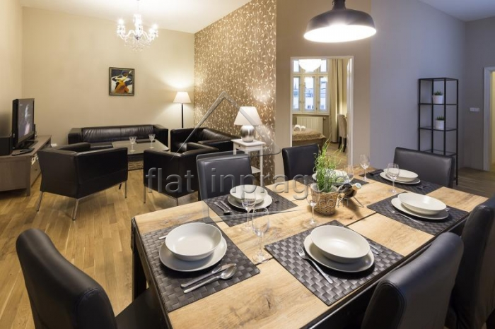 Modern elegant apartment for up to 8 people on Wenceslas square