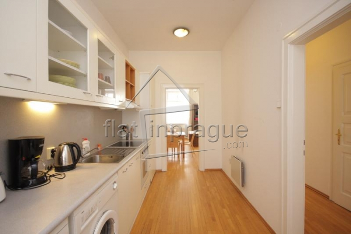 Pleasant bright apartment in a beautiful location near the Prague Castle