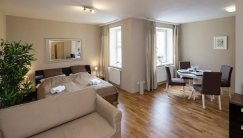 Elegant studio apartment directly on Wenceslas Square