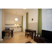 Beautiful modern studio apartment directly opposite of the National Theatre
