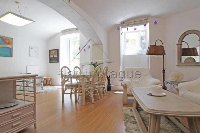 Very nice modern studio apartment with terrace in Prague 2