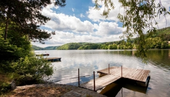 Beautiful fully furnished cottaget in the lucrative recreational area Slapy
