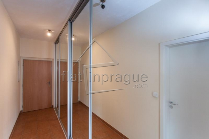 Beautiful modern studio with balcony in Prague 5