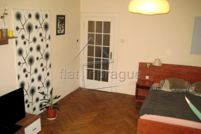 Cozy two bedroom apartment in a pleasant locality of Prague Podolí