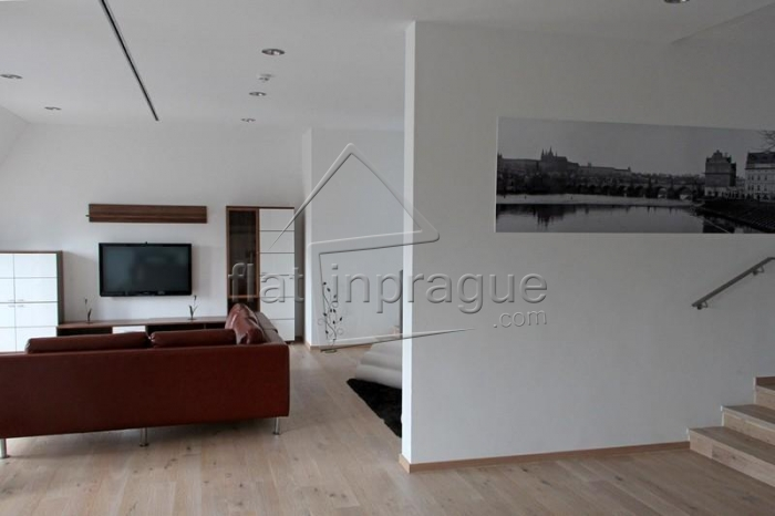 Luxury apartment with a large terrace on the Wenceslas Square