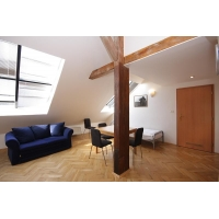 Nice attic one bedroom apartment at Prague 1